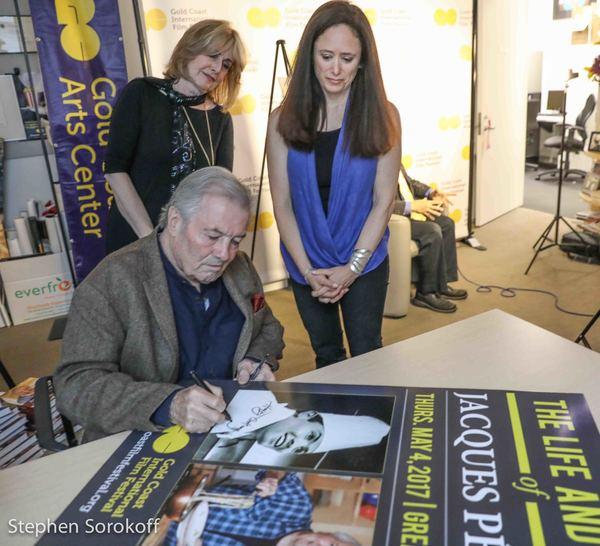 Jacques Pepin, Regina Gil , Caroline Sorokoff