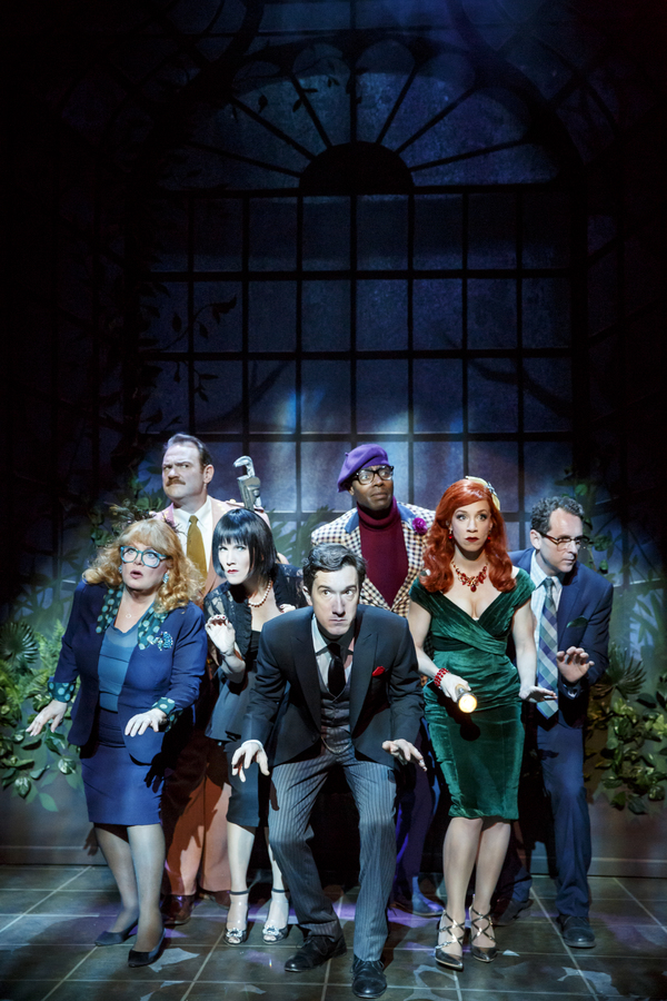 Sally Struthers, Kevin Carolan, Erin Dilly, Carson Elrod, Clifton Duncan, Lindsay Nicole Chambers, and Brian J. Carter