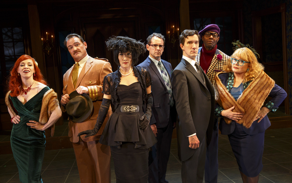Photo Flash: Whodunit? First Look at CLUE: ON STAGE at Bucks County Playhouse
