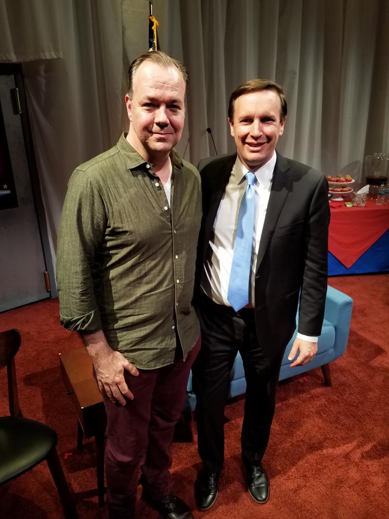Photo Flash: Senator Chris Murphy and Sandy Hook Promise Take Part in CHURCH & STATE Talk Back