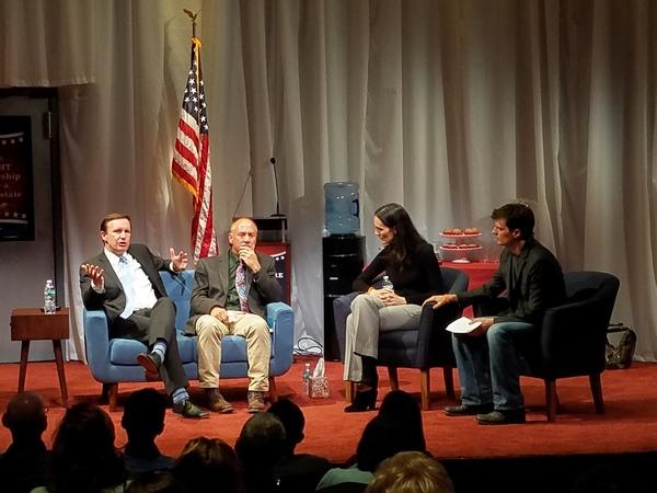 Photo Flash: Senator Chris Murphy and Sandy Hook Promise Take Part in CHURCH & STATE Talk Back