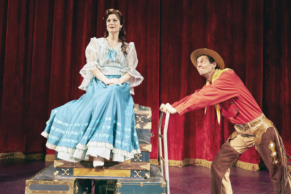 Photo Flash: Get A First Look At Donny Osmond Voiced THE WILL ROGERS FOLLIES at Pioneer Theatre Company