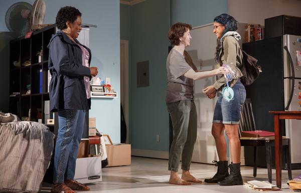 Shona Tucker, Emily Donahoe, and Vella Lovell