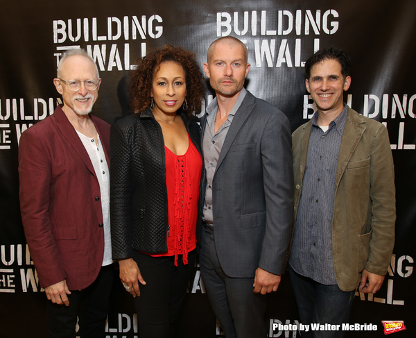 Robert Schenkkan, Tamara Tunie, James Badge Dale and Ari Edelson Photo
