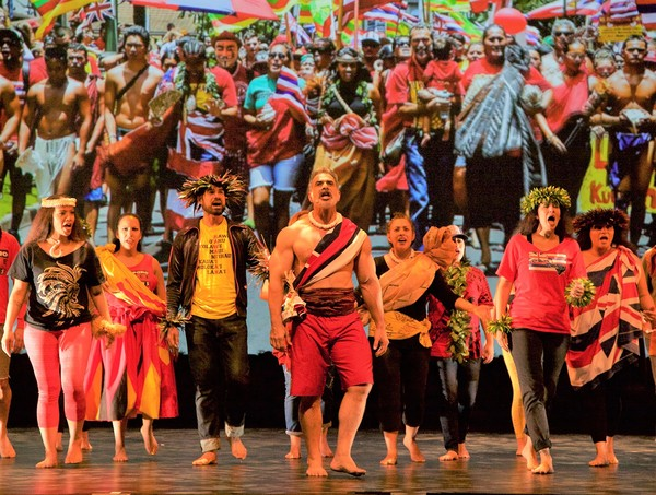 Opening: THE NATIVES ARE RESTLESS returns to Hawaii Theatre thru May 6