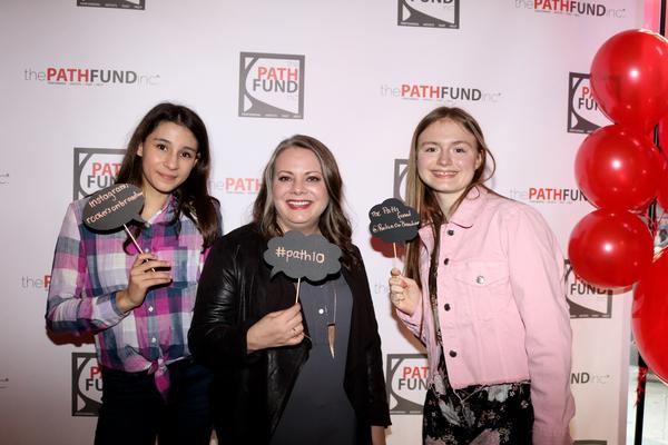 Victoria Csatay, Cori Gardner and Bella Retter