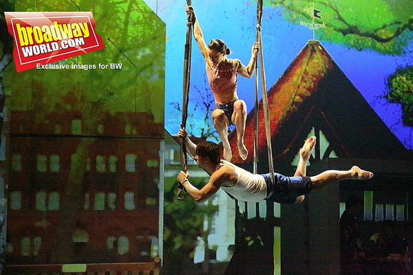 Photo Flash: Swing Over to the Wild Side for an Exhilarating Trip Through SOHO