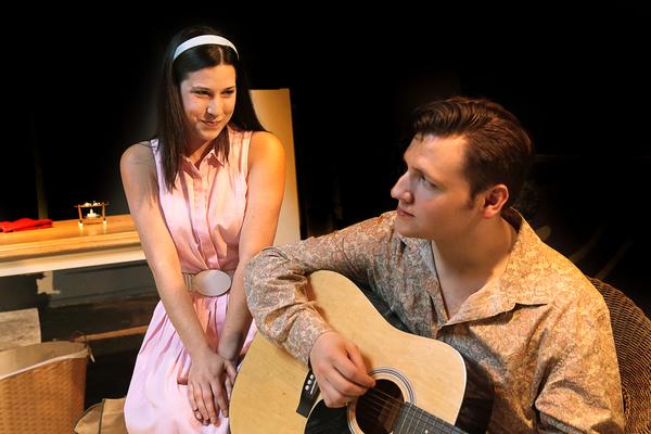 Jenna Morris and Austin Heps