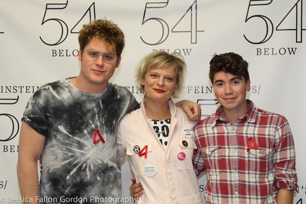 Matt Shively, Martha Plimpton and Noah Galvin