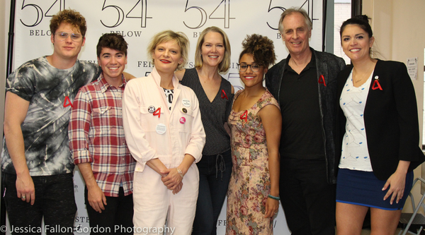 Matt Shively, Noah Galvin, Martha Plimpton, Rebecca Luker, Ariana DeBose, Keith Carradine and Cecily Strong