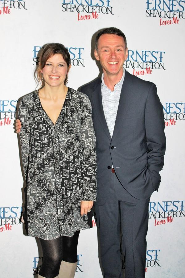 Nicole Parker and Andrew Lippa Photo