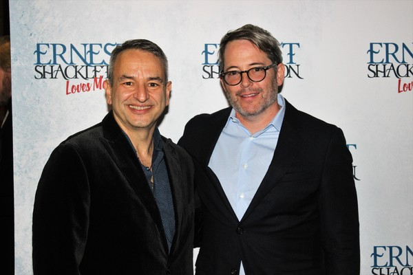 Joe DiPietro and Matthew Broderick