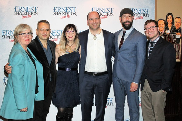 Lisa Peterson, Joe DiPietro, Val Vigoda, Matthew Kwatinetz,  Wade McCollum and Ryan O Photo