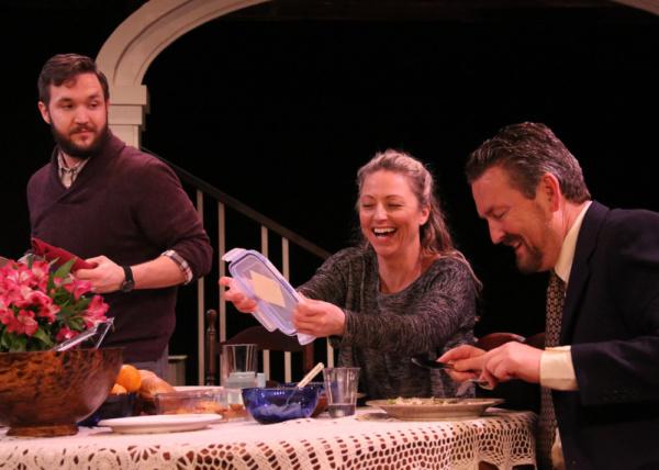 Marty Brent, Jade Schuyler and Richard Martin. Photo