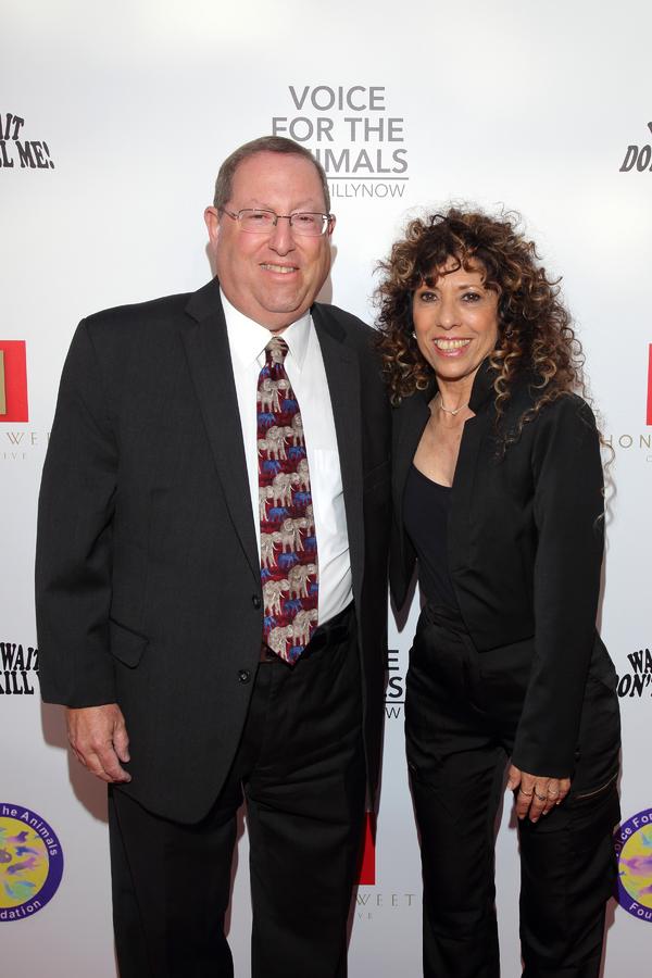 Paul Koretz with Melya Kaplan Photo