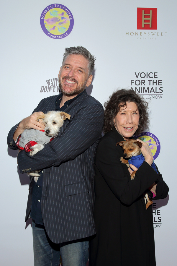 Craig Ferguson and Lily Tomlin