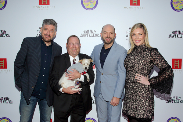 Craig Ferguson, Paul Koretz, Paul Scheer and June Diane Raphael