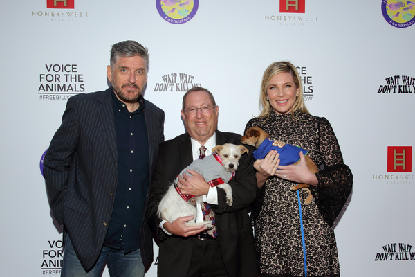 Craig Ferguson, Paul Koretz and June Diane Raphael