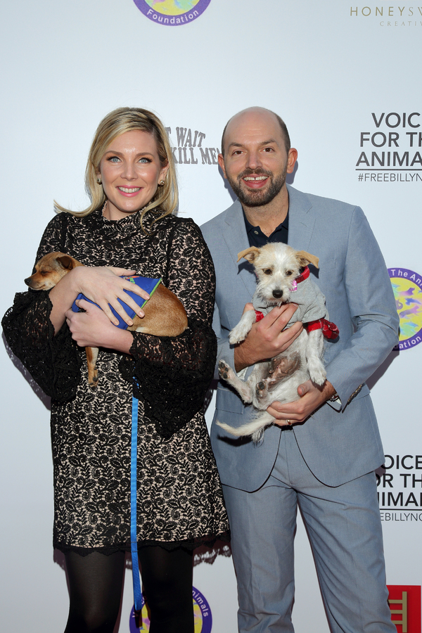 June Diane Raphael and Paul Scheer