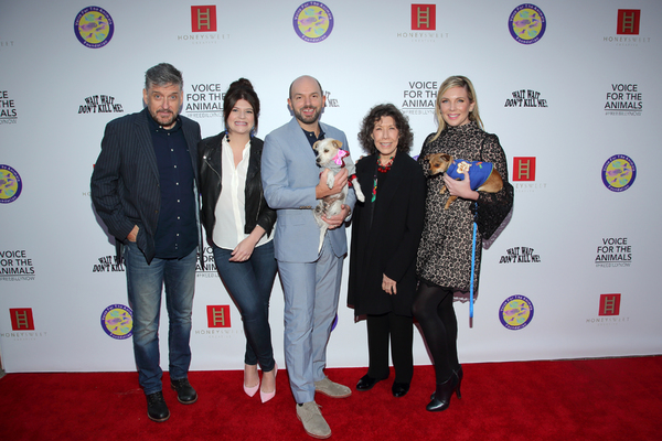 Craig Ferguson, Casey Wilson, Paul Scheer, Lily Tomlin and June Diane Raphael