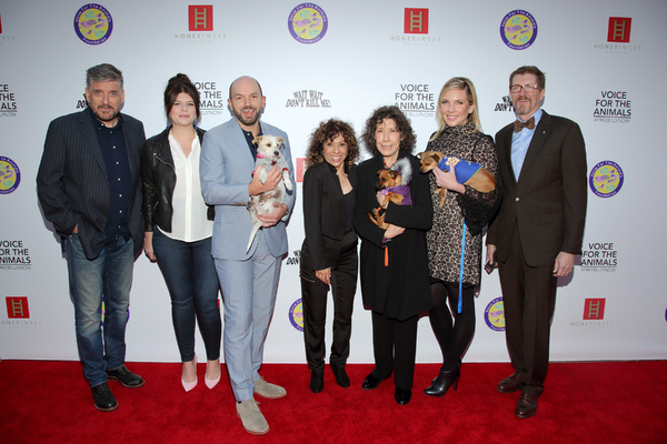 Craig Ferguson, Casey Wilson, Paul Scheer, Lily Tomlin and June Diane Raphael, Melya Kaplan and Erick Weiss