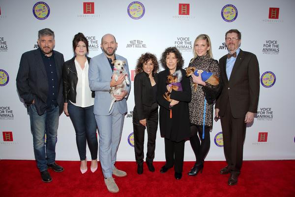 Craig Ferguson, Casey Wilson, Paul Scheer, Lily Tomlin and June Diane Raphael, Melya Kaplan and Erick Weiss