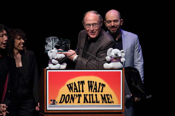 Photo Flash: Lily Tomlin Joins Friends for WAIT WAIT...DON'T KILL ME! Comedy Benefit