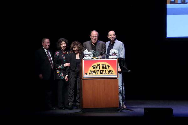 Paul Koretz, Lily Tomlin, Melya Kaplan, Mark Kleinman and Paul Scheer Photo