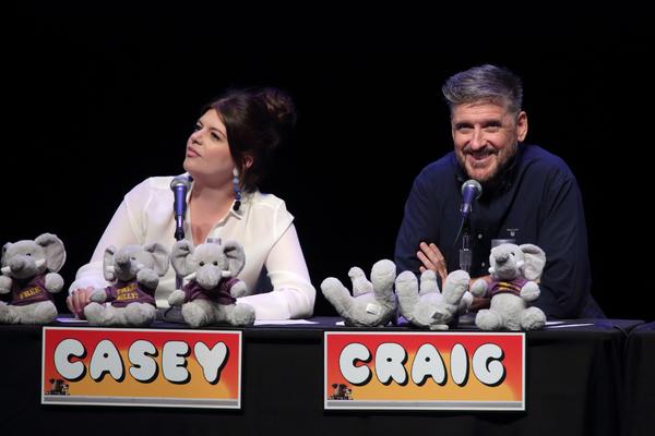 Casey Wilson and Craig Ferguson