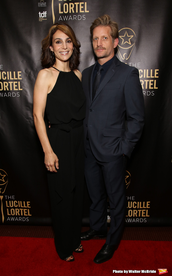 Annie Parisse and Paul Sparks