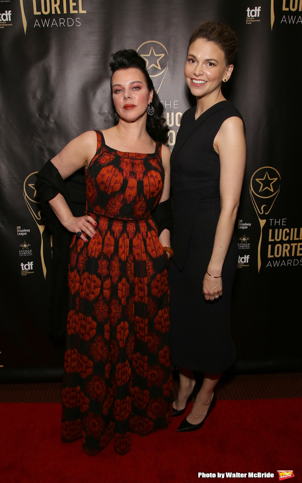 Debi Mazar and Sutton Foster