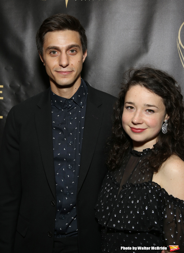 Gideon Glick and Sarah Steele