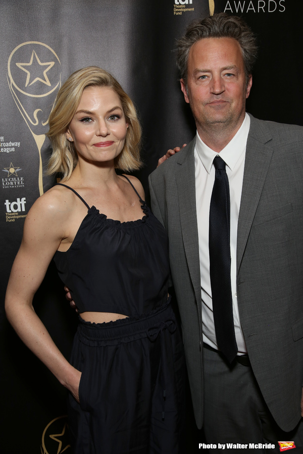 Jennifer Morrison and Matthew Perry