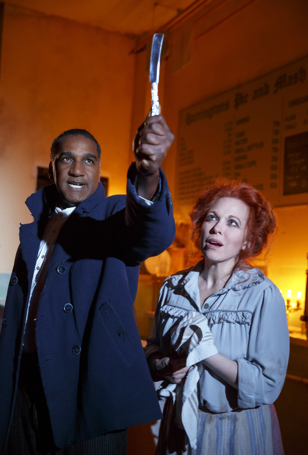 Norm Lewis and Carolee Carmello