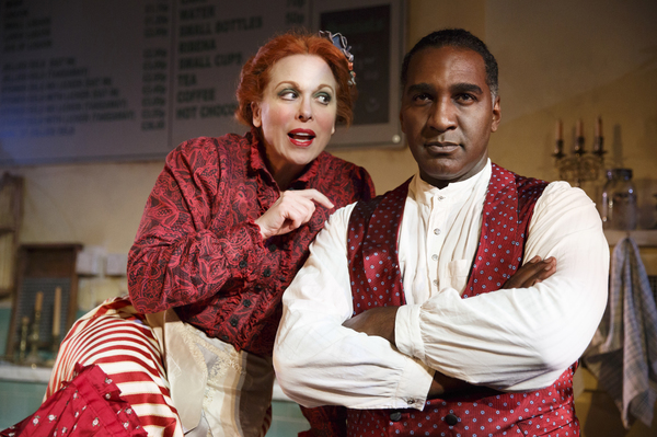 Carolee Carmello and Norm Lewis