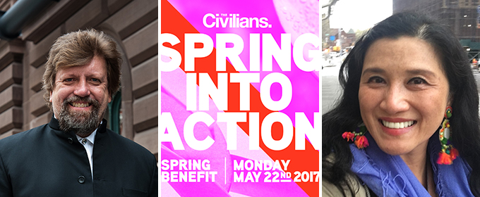 The Civilians 2017 'Spring Into Action' Benefit to Honor Oskar Eustis and Hesu Coue-Wilson