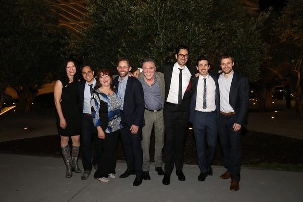 Giovanna Sardelli, Rajiv Joseph, and Joanne McGee, Todd Weeks, Patrick Page, Ramiz Mo Photo
