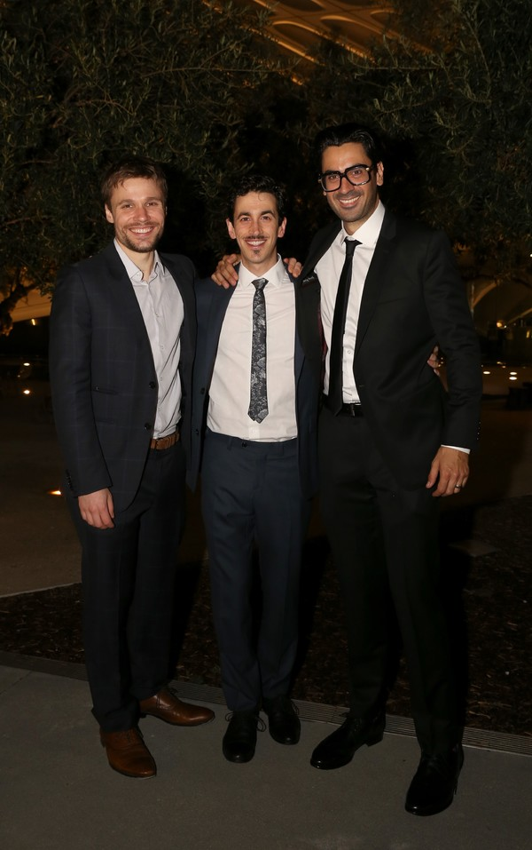 Josiah Bania, Stephen Stocking and Ramiz Monsef Photo