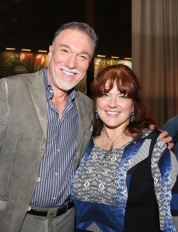 Patrick Page and Joanne McGee