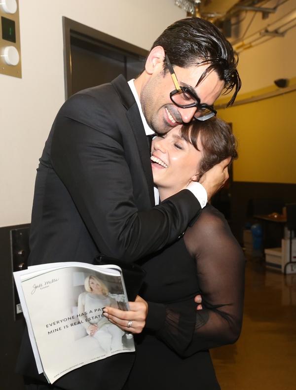 Ramiz Monsef and Raquel Bianchini