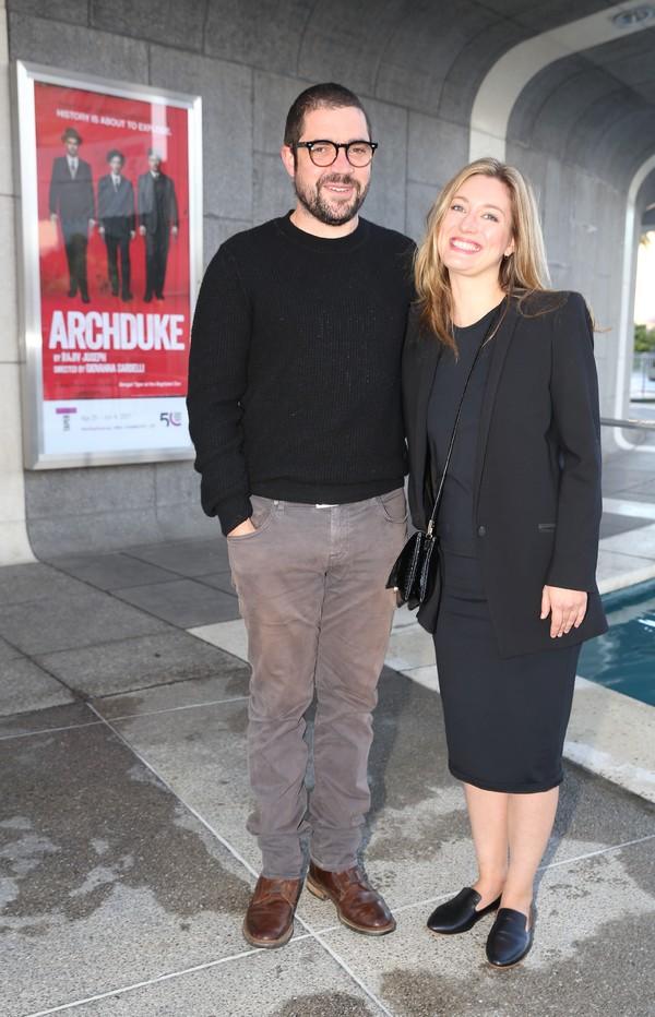Noah Haidle and Zoe Perry Photo