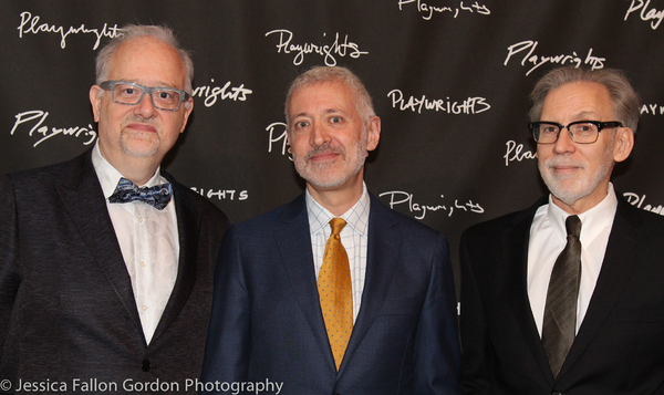 Doug Wright, Scott Frankel and Michael Korie Photo