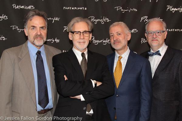Tim Sanford, Michael Korie, Scott Frankel and Doug Wright