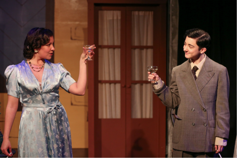 BWW Review: Reboot Theater's PRIVATE LIVES Very Witty, Slightly Wonky