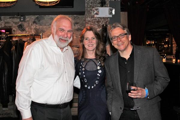 Kim Scharnberg, Gwynn Griffin and Scott Stauffer