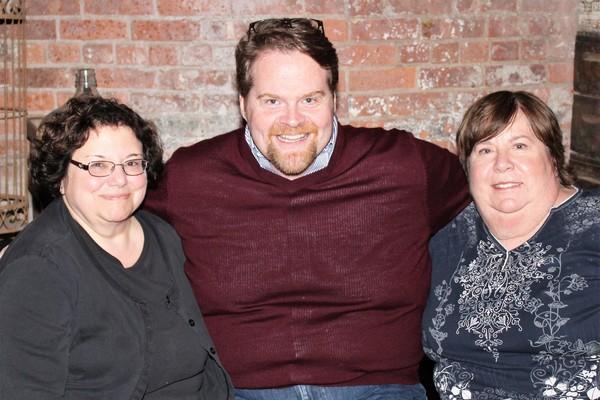 Jan Amento, John Treacy Egan and Nancy Perricone