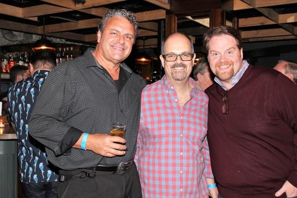 Ray McLeod, Brad Oscar and John Treacy Egan