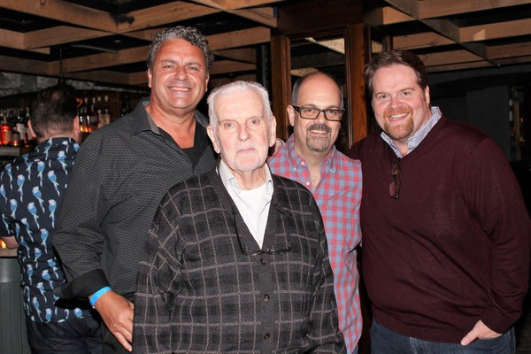 Ray McLeod, Herbert Foster, Brad Oscar and John Treacy Egan