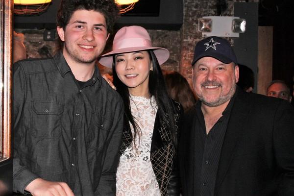 Jake Wildhorn, Takako Wildhorn and Frank Wildhorn Photo