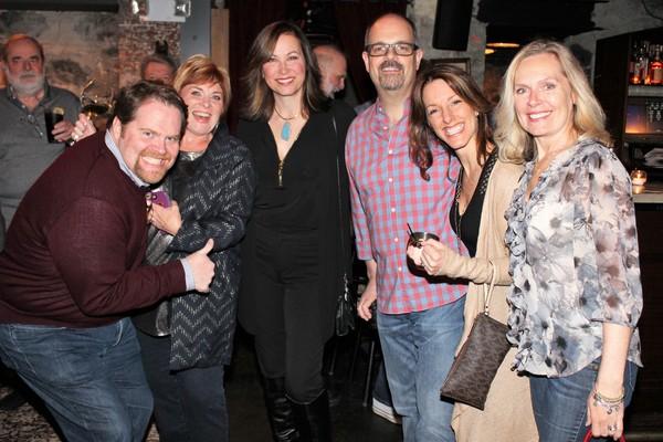 John Treacy Egan, Becky Spencer, Linda Eder, Brad Oscar, Michelle Millardi and Christy Tarr-McVey